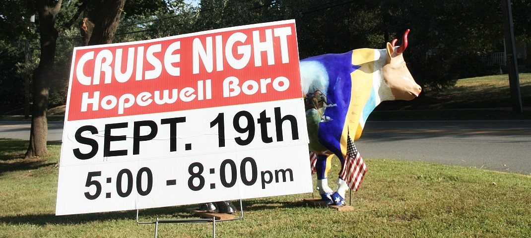 """Classic Cars and Family Fun """"Cruise"""" into Hopewell Boro Friday Night"""