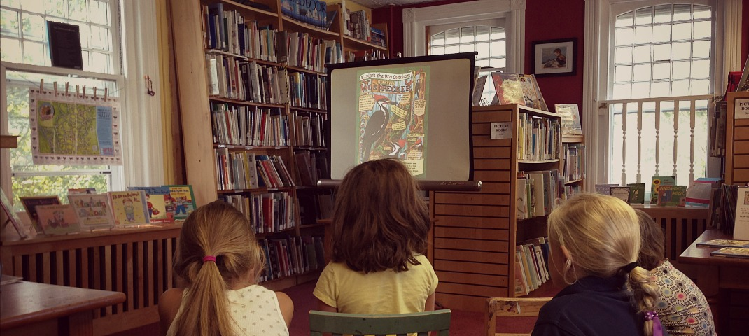 Book Signing with Big Backyard Magazine Illustrator Held at Hopewell Library