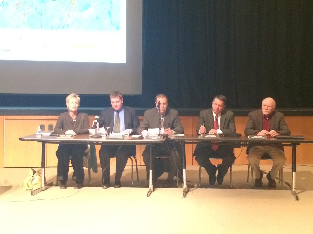 Information Coming Down the Pipeline in Hopewell Township