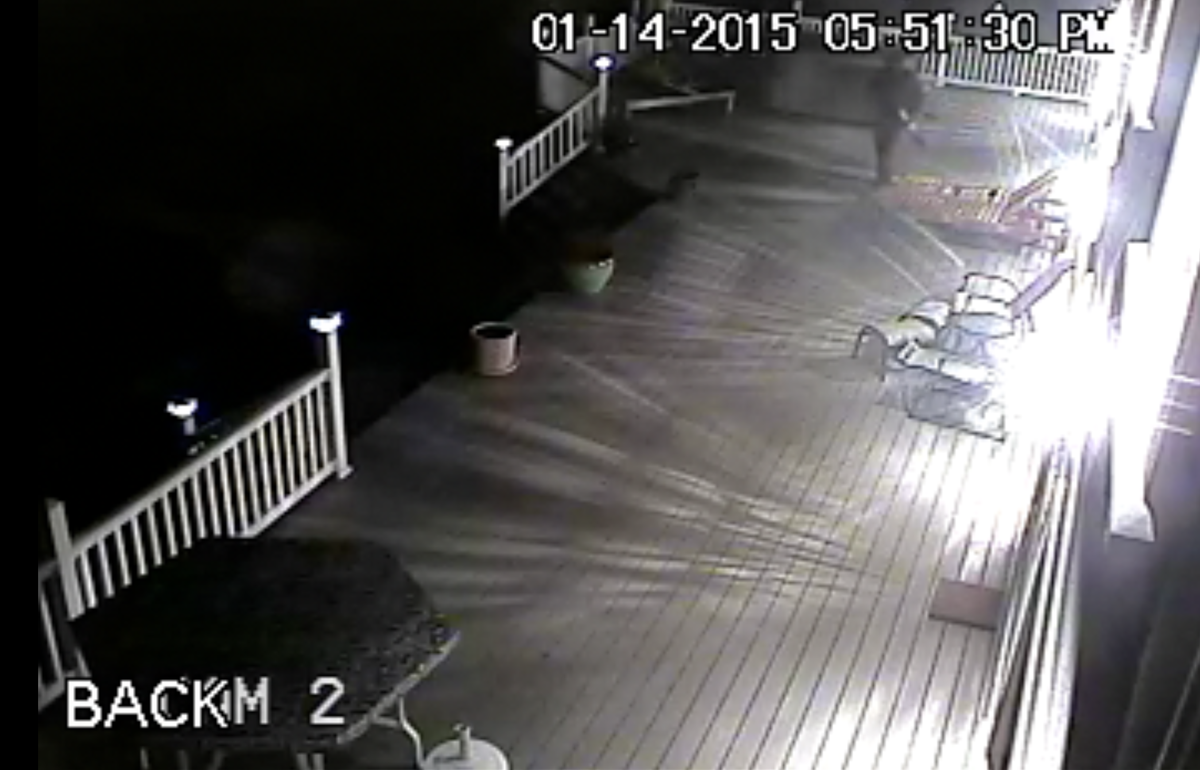 Hopewell Township Police Dept Releases Surveillance Video of Local Burglary