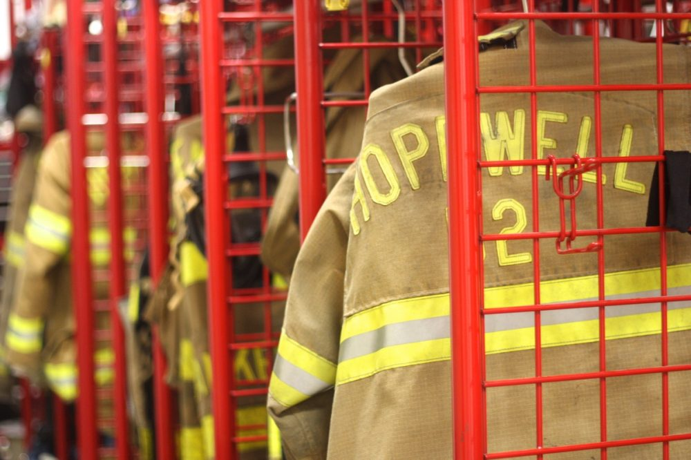 Residential Fire on West Prospect in Hopewell Borough