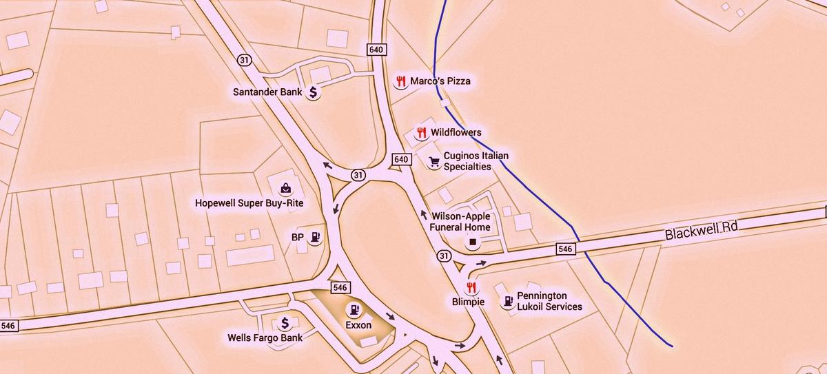 POSTPONED: Route 31 CSX Bridge in Pennington to Close for 5 Days, Traffic Detours