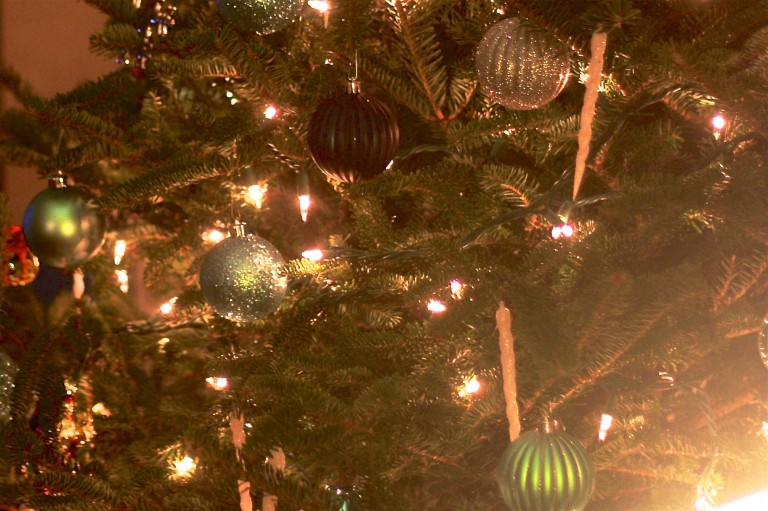 Tree Lighting in Hopewell Township