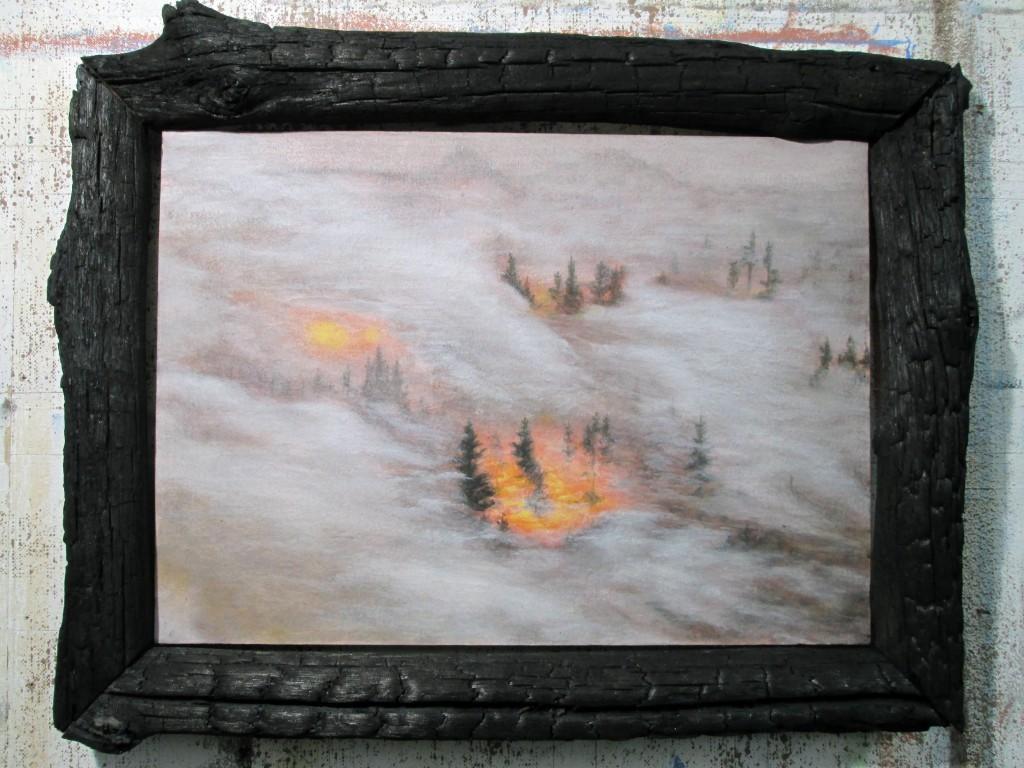 "Silvere Boureau ""Forest Fire"""