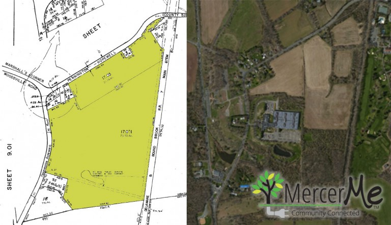 Zoning Application Filed by Owners of Kooltronic Tract in Pennytown Area of Hopewell Twp