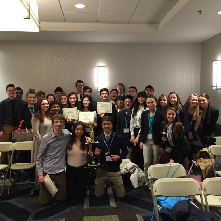 Big Win for HVCHS Model UN at the Philadelphia Model UN Conference