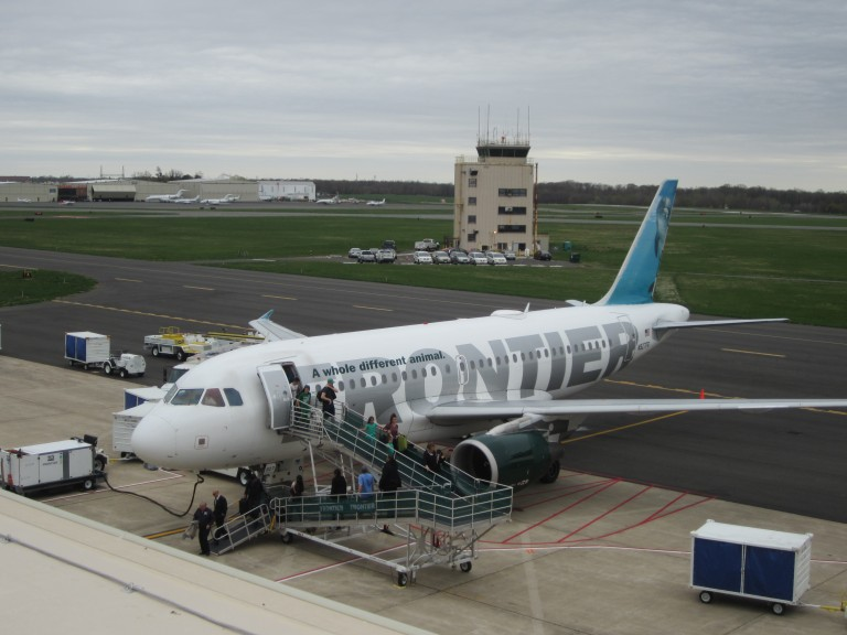 Frontier Airlines Expands to 16 Non-Stop Destinations from Trenton-Mercer