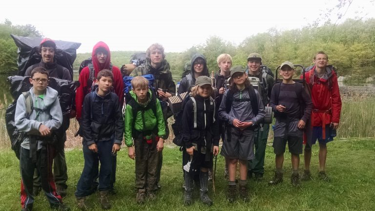 Hopewell's Boy Scout Troop 71 Climbs Mountains