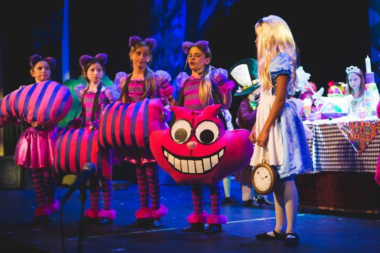 HV Children's Theatre presents its 19th Summer Season with Disney's Alice in Wonderland, Jr. and Disney's High School Musical