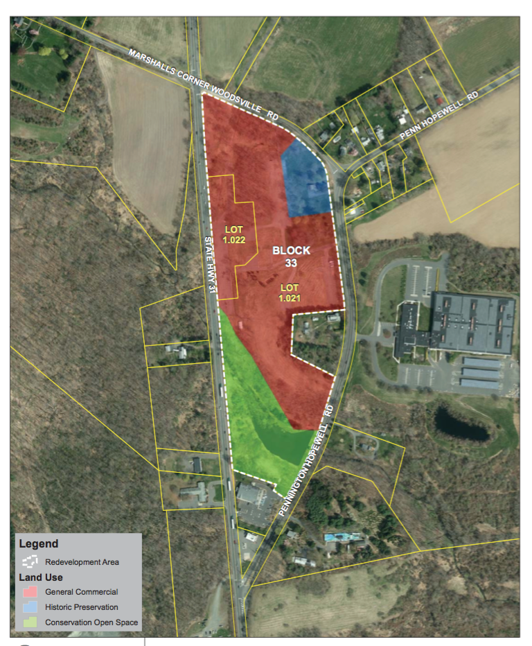 Pennytown Redevelopment Plan to be Reviewed by Hopewell Township Planning Board