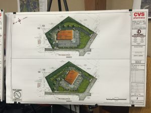 Site plan revisions as of 8/18/16