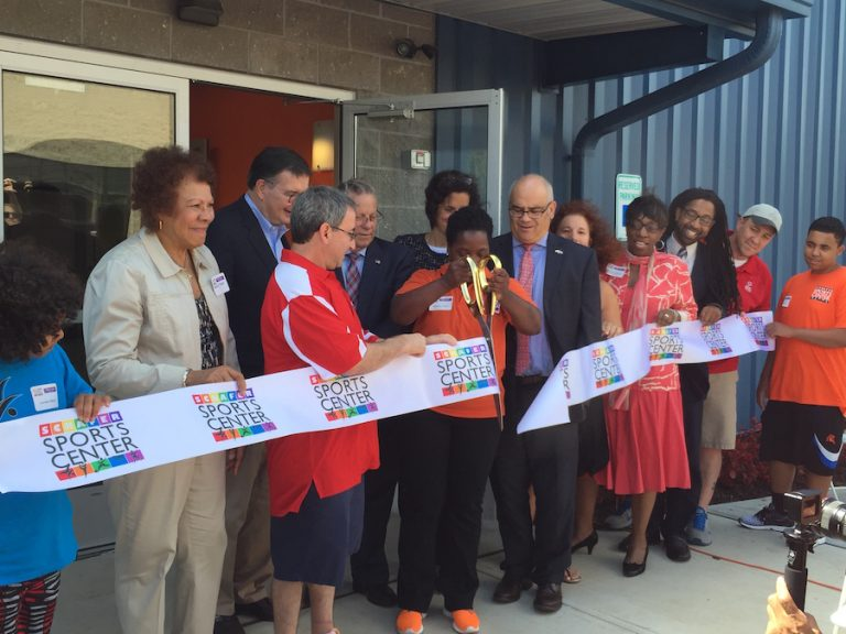 New Schafer Sports Center Is All Heart in Ewing