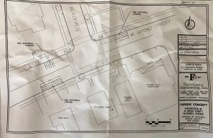 pedestrian safety crosswalk map hopewell borough