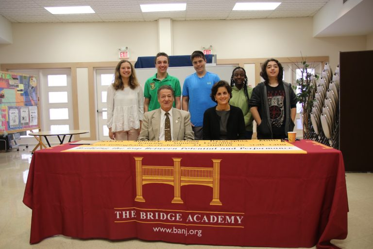 Elected Officials Muoio and Maffei Join The Bridge Academy in Social Studies Lesson
