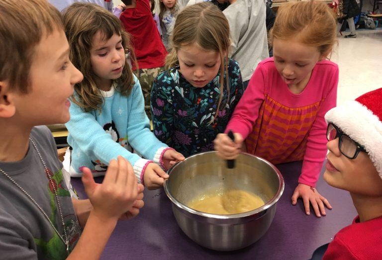 Toll Gate Grammar School Prepares Thanksgiving Meals for TASK