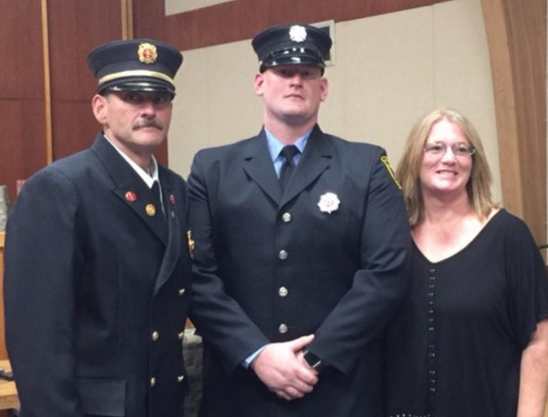 Local Sworn-in as Hopewell Valley Emergency Services Specialist