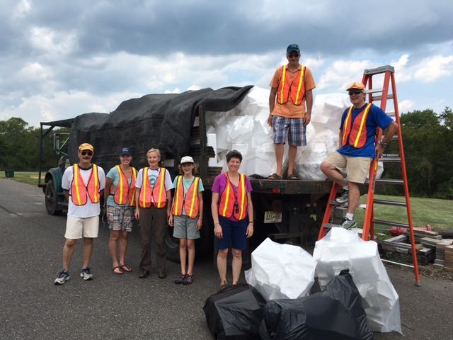 Hopewell Valley Recycling Event for Styrofoam and Paper Shredding