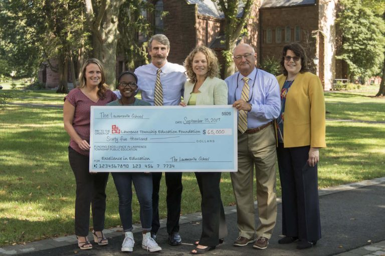 Lawrenceville Tops $1.4 Million in Donations to Lawrence Township Education Foundation