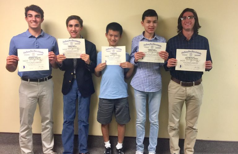 Hopewell Central High School's Boys Unified Track Team Recognized