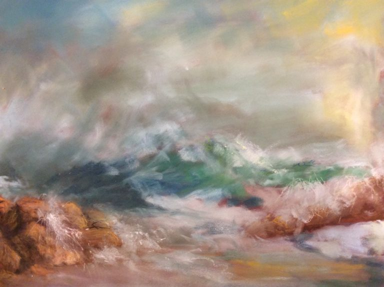 Then and Now Art Show, Oil and Pastel Paintings by Janet Purcell