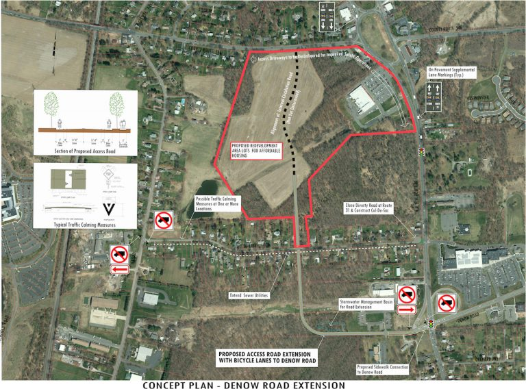 Hopewell Township Listens to Diverty Road Residents' Concerns Over Future Inclusionary Development