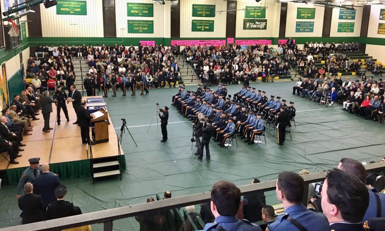 Mercer County Police Academy Graduates 18th Class of Police Officers