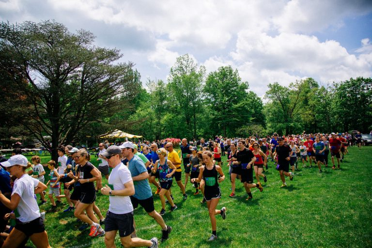 Watershed Institute's 3rd Annual Trail Run Was Muddy Success