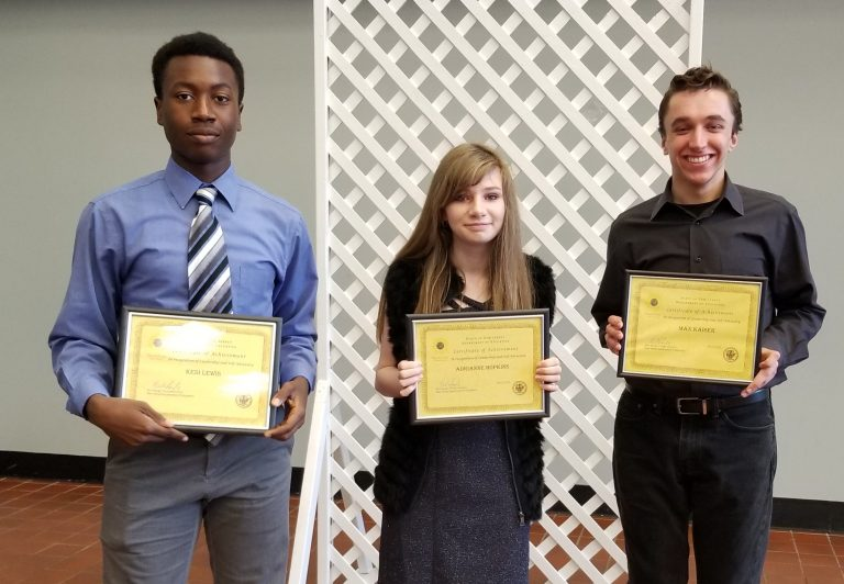 Bridge Academy Students Present at Student Leadership Conference