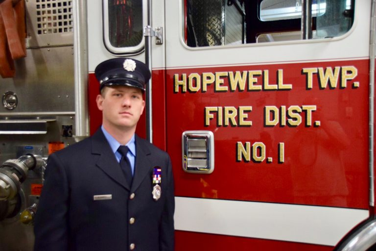 Hopewell Valley Emergency Services Specialist Promoted to Lieutenant