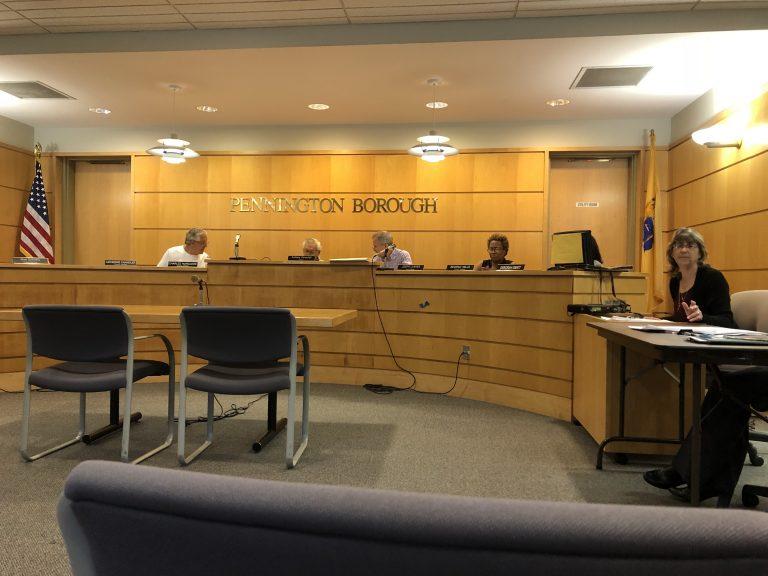 Pennington Borough Talks Audit, Senior Center Renovations, Water Management