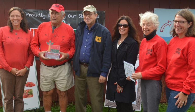 Terhune Orchards Receives the New Jersey 'Farm to School' Farmer Recognition Award