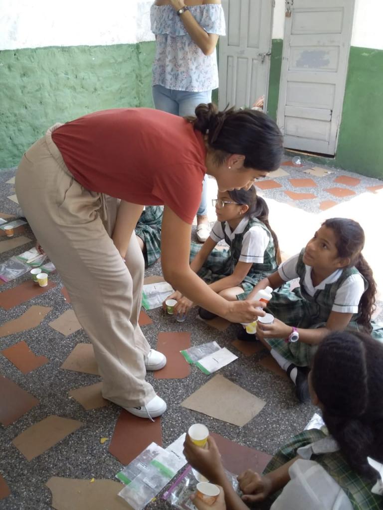 Local High School Senior Establishes Non-Profit to Help School Children in her Native Colombia