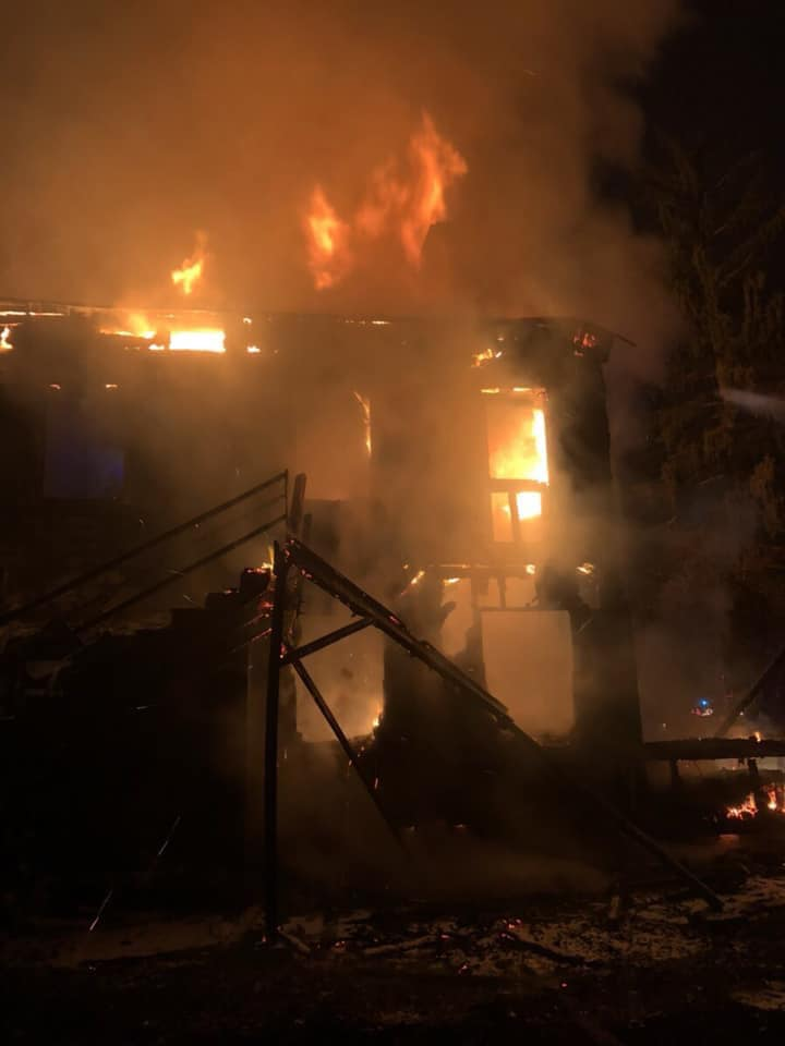 Residential Fire Battled in Hopewell Township