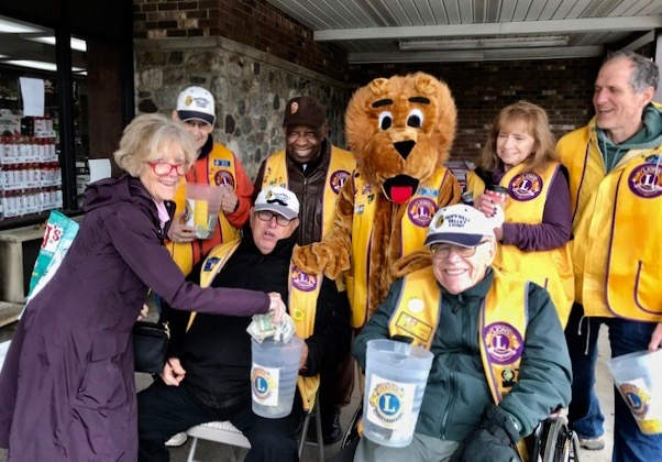 Hopewell Valley Lions Raise Funds to Support Eye Research