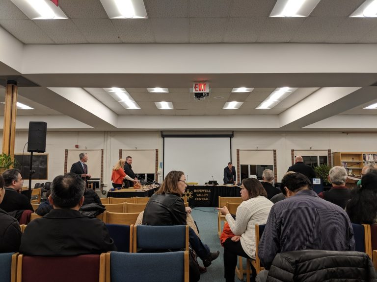 Hopewell Valley Board of Education Talks Contract Dispute, Achievement Report