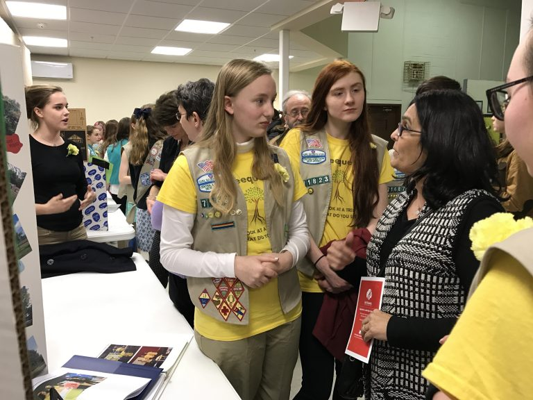 Twenty Hopewell Valley Girl Scouts to be Honored at Public Event