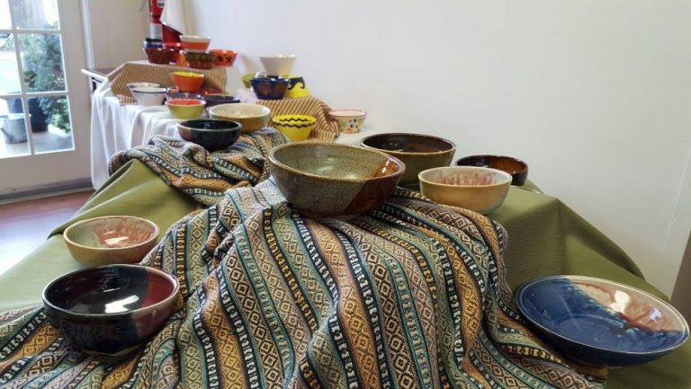 """Hopewell Council of Churches Hosts """"Empty Bowls"""" Dinner to Benefit TASK"""