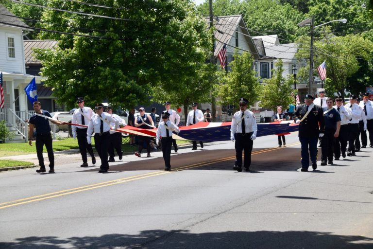 Hopewell Borough Memorial Day Parade is on!