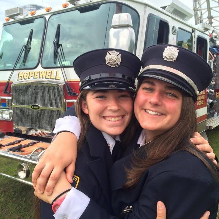 Hopewell Fire Dept Volunteer Spotlight: Learning to Save Lives Drastically Changed Her Own
