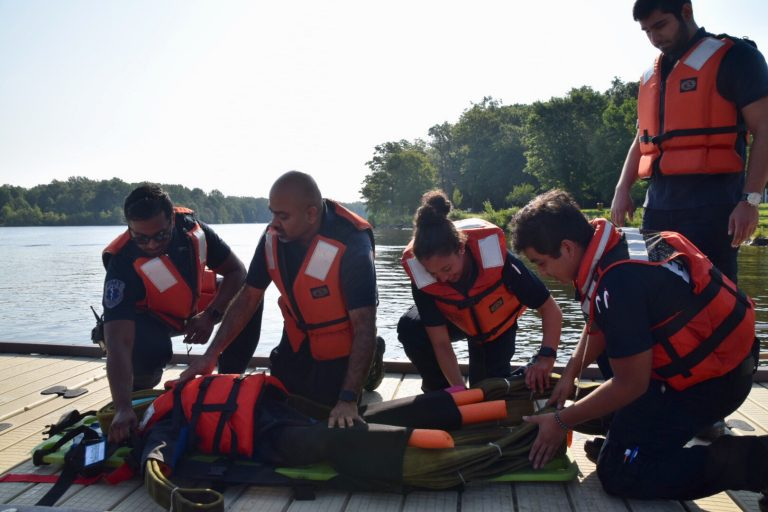 Union Fire Company Conducts Rescue Water Drills (Photos)