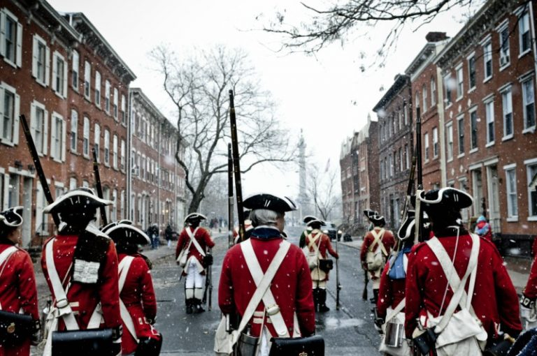 Battles of Trenton Reenactments