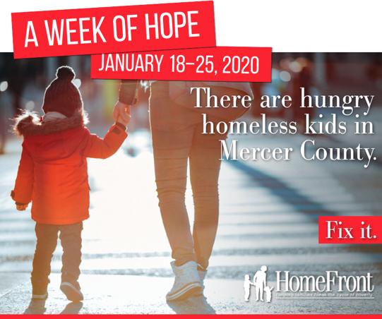 Homefront's week of hope