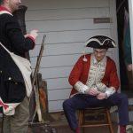 Reenactors at Princeton Battlefield