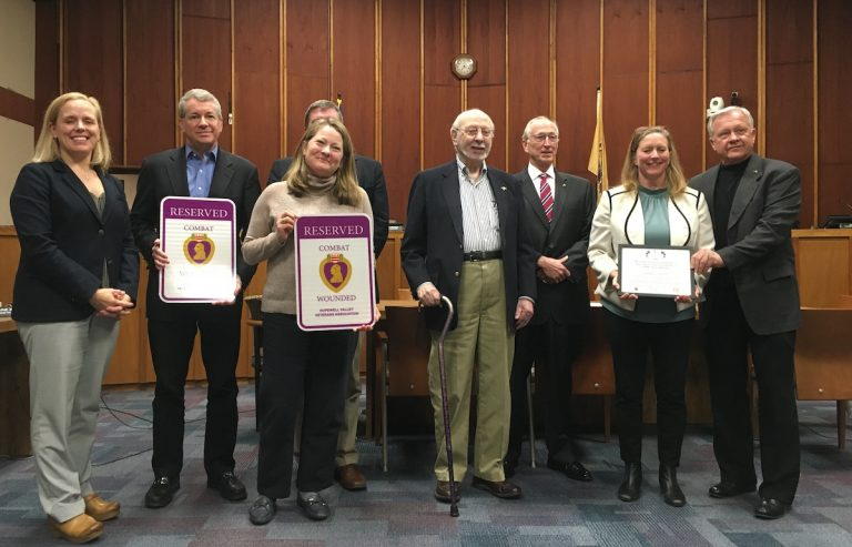 Hopewell Township Committee honors Veterans and Black History month at recent meeting