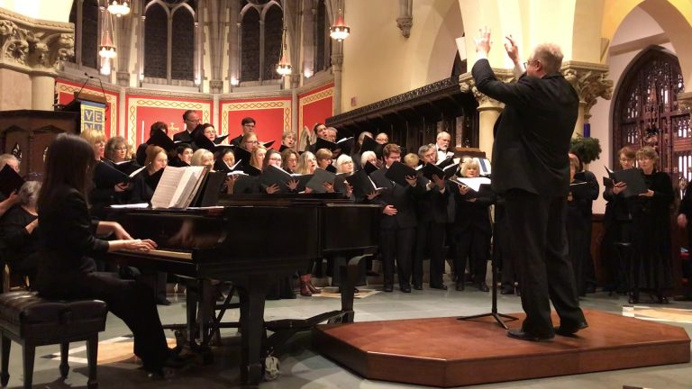"""""""Can We Sing the Darkness to Light?"""" Online Concert Footage by VOICES Chorale NJ"""