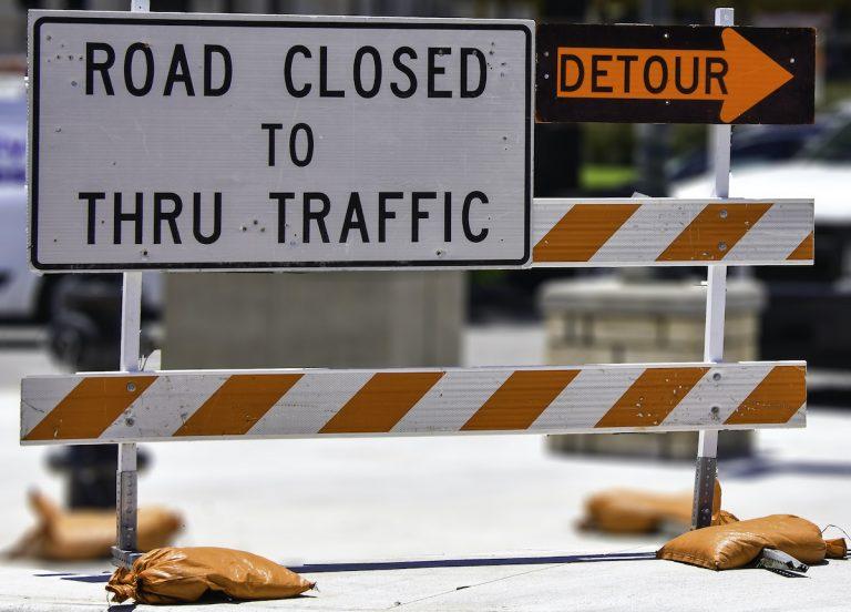 Woosamonsa Road closure