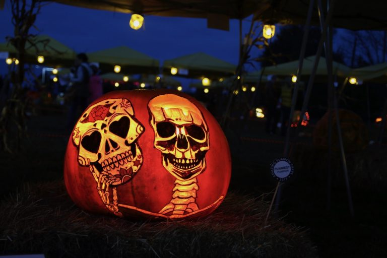 Drive-thru the 6th Annual Amazing Pumpkin Carve for fall fun in Hopewell Valley