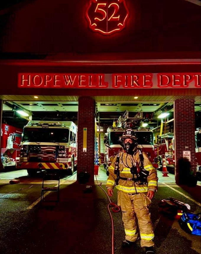 Realizing a life-long dream to make a difference: meet Hopewell Firefighter Frank Scalice