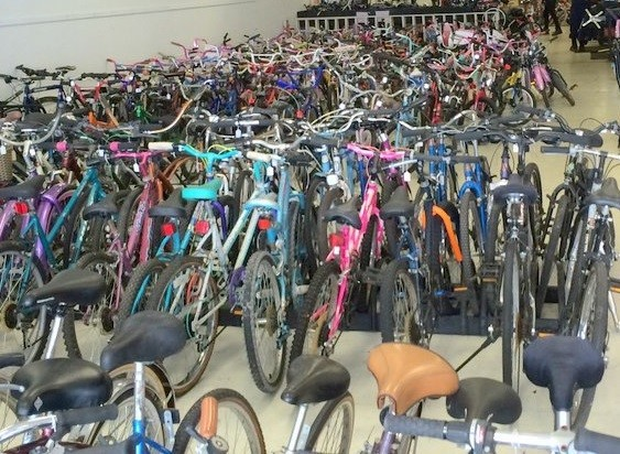 Mercer County holding Bike Drive