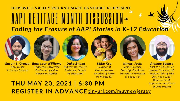 HVRSD to host Asian American and Pacific Islander Heritage virtual event